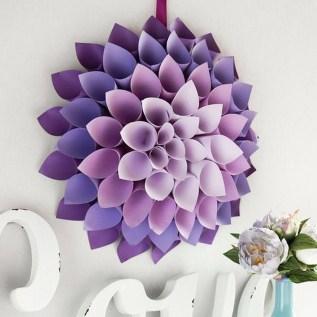 Gorgeous Fun Colorful Paper Decor Crafts Ideas36