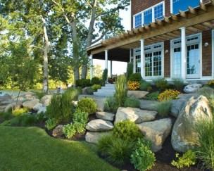 Impressive Front Yard Landscaping Garden Designs Ideas27