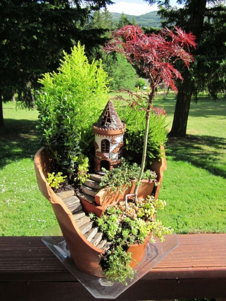 Impressive Magical Mini Garden Ideas13