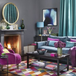Inspiring Living Room Color Schemes Ideas Will Make Space Beautiful04