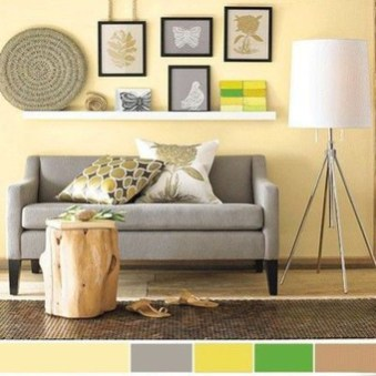 Inspiring Living Room Color Schemes Ideas Will Make Space Beautiful34