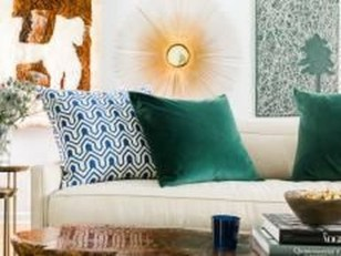 Lovely Fall Emerald Home Decoration Ideas23