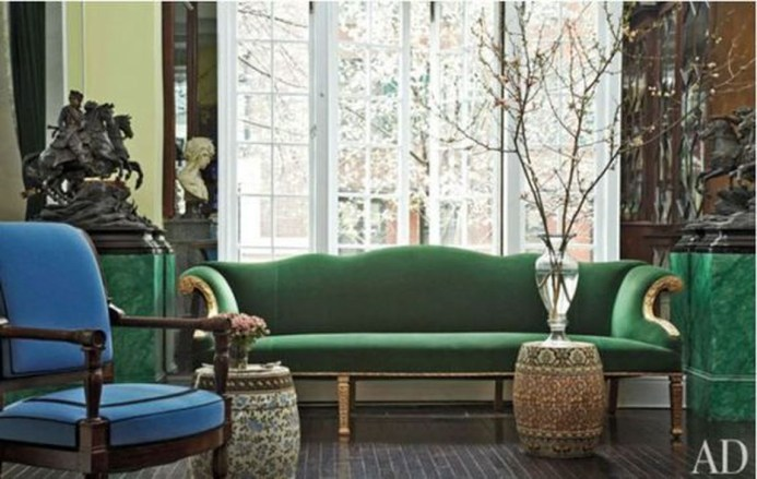 Lovely Fall Emerald Home Decoration Ideas34