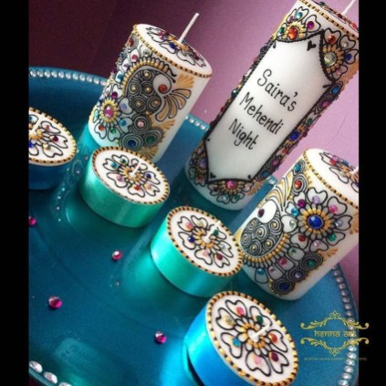 Magnificient Decorated Candle Ideas18