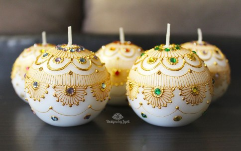 Magnificient Decorated Candle Ideas21