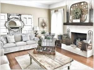 Modern Chic Farmhouse Living Room Design Decor Ideas Home02
