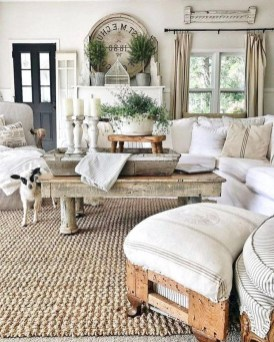 Modern Chic Farmhouse Living Room Design Decor Ideas Home24