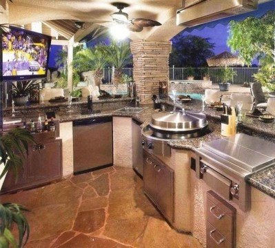 Perfect Outdoor Kitchen Ideas Make Guest Excited06