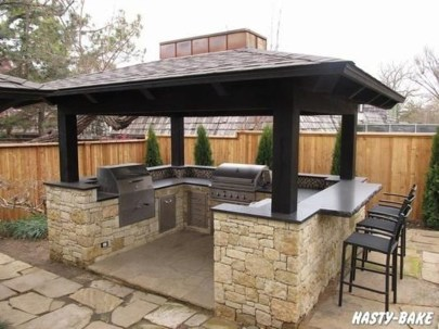 Perfect Outdoor Kitchen Ideas Make Guest Excited23