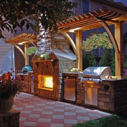Perfect Outdoor Kitchen Ideas Make Guest Excited29
