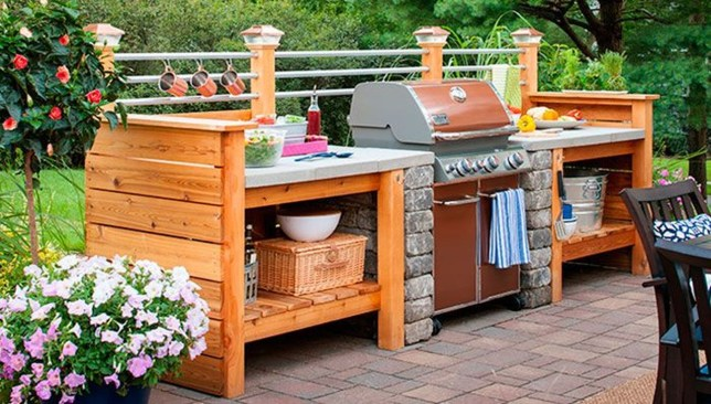Perfect Outdoor Kitchen Ideas Make Guest Excited32