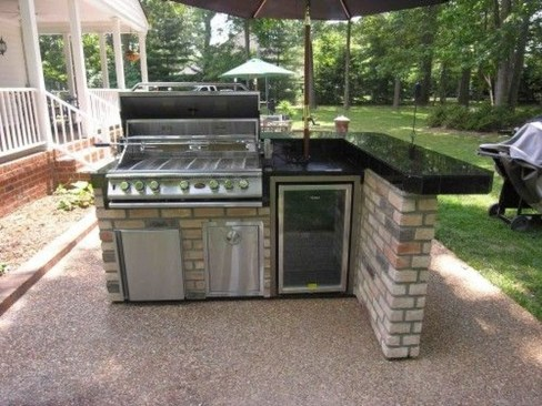 Perfect Outdoor Kitchen Ideas Make Guest Excited33