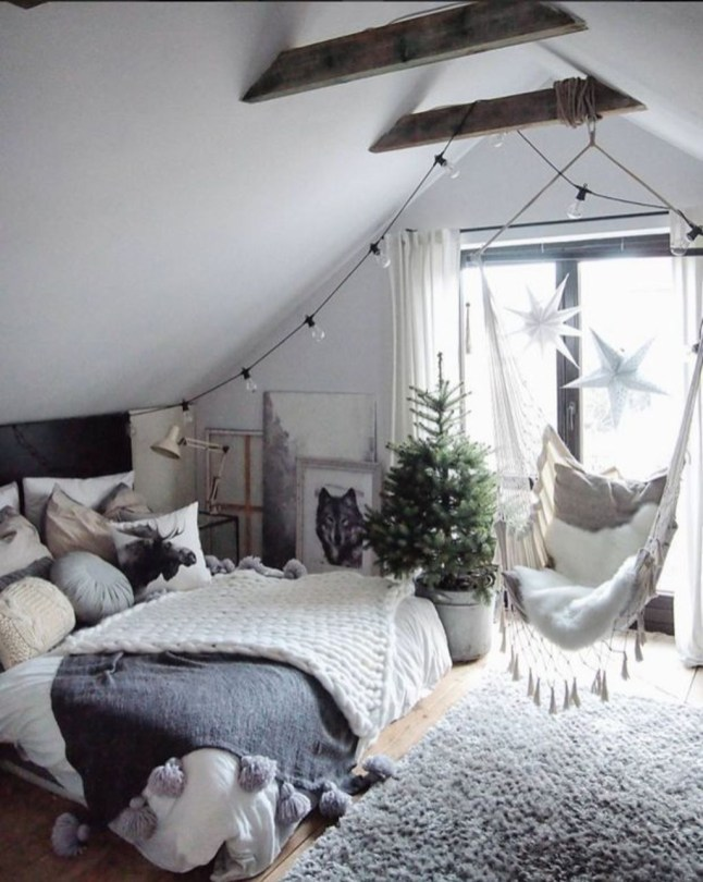 Perfect Winter Bedroom Decoration Ideas06