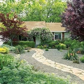 Pretty Grassless Backyard Landscaping Ideas03