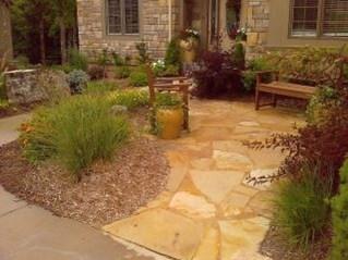 Pretty Grassless Backyard Landscaping Ideas24