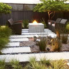 Pretty Grassless Backyard Landscaping Ideas26