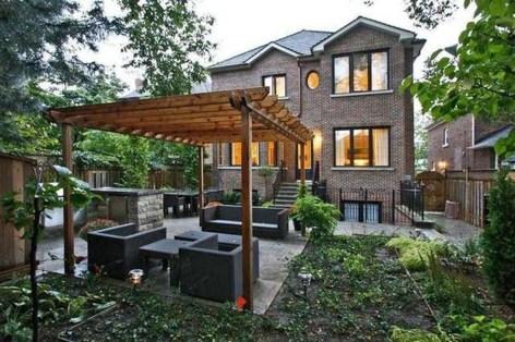 Pretty Grassless Backyard Landscaping Ideas35