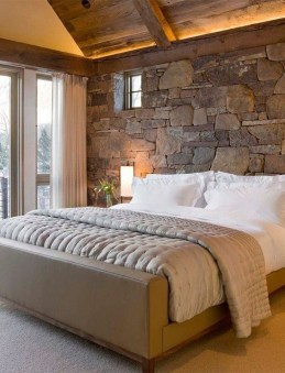 Romantic Rustic Farmhouse Bedroom Design And Decorations Ideas26