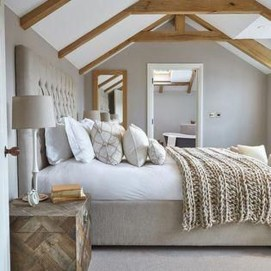 Romantic Rustic Farmhouse Bedroom Design And Decorations Ideas28