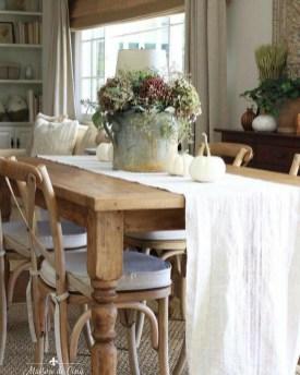 Stylish French Farmhouse Fall Table Design Ideas16