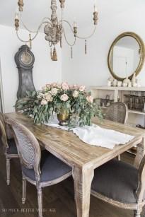 Stylish French Farmhouse Fall Table Design Ideas22