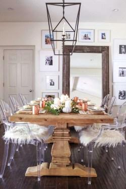 Stylish French Farmhouse Fall Table Design Ideas24