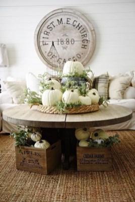 Stylish French Farmhouse Fall Table Design Ideas45
