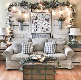 Amazing Farmhouse Christmas Decor09