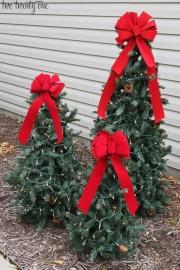 Amazing Outdoor Christmas Trees Ideas 04