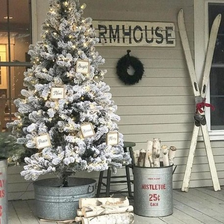 Amazing Outdoor Christmas Trees Ideas 29