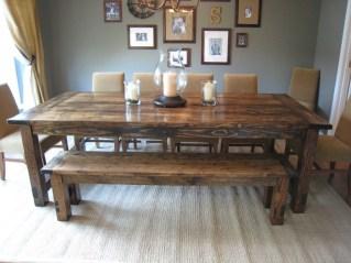 Comfy Diy Dining Table Ideas01