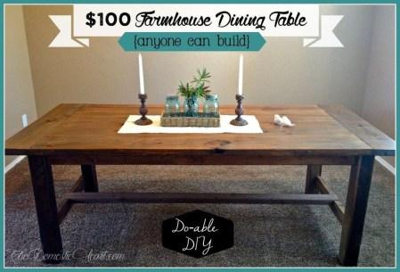 Comfy Diy Dining Table Ideas29