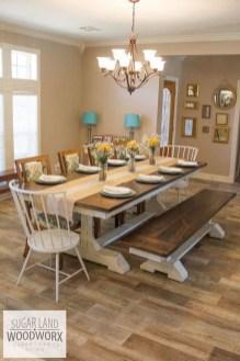 Comfy Diy Dining Table Ideas33