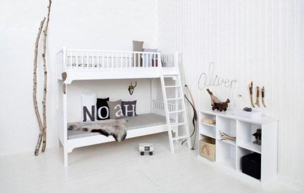 Cozy Scandinavian Kids Rooms Designs Ideas18