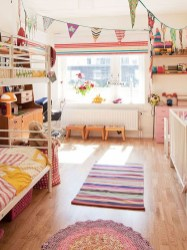 Cozy Scandinavian Kids Rooms Designs Ideas22