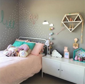 Cozy Scandinavian Kids Rooms Designs Ideas37