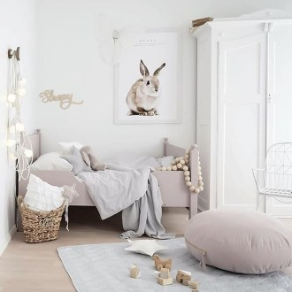Cozy Scandinavian Kids Rooms Designs Ideas48