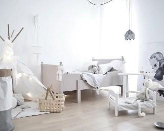 Cozy Scandinavian Kids Rooms Designs Ideas49