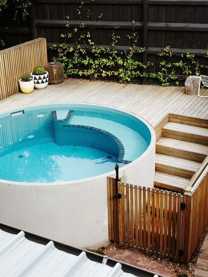 Cozy Swimming Pool Design Ideas For Your Home Backyard01