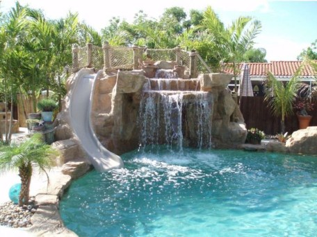 Cozy Swimming Pool Design Ideas For Your Home Backyard15