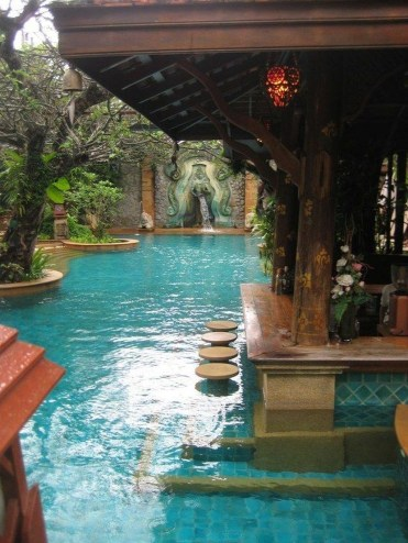 Cozy Swimming Pool Design Ideas For Your Home Backyard22