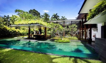 Cozy Swimming Pool Design Ideas For Your Home Backyard27