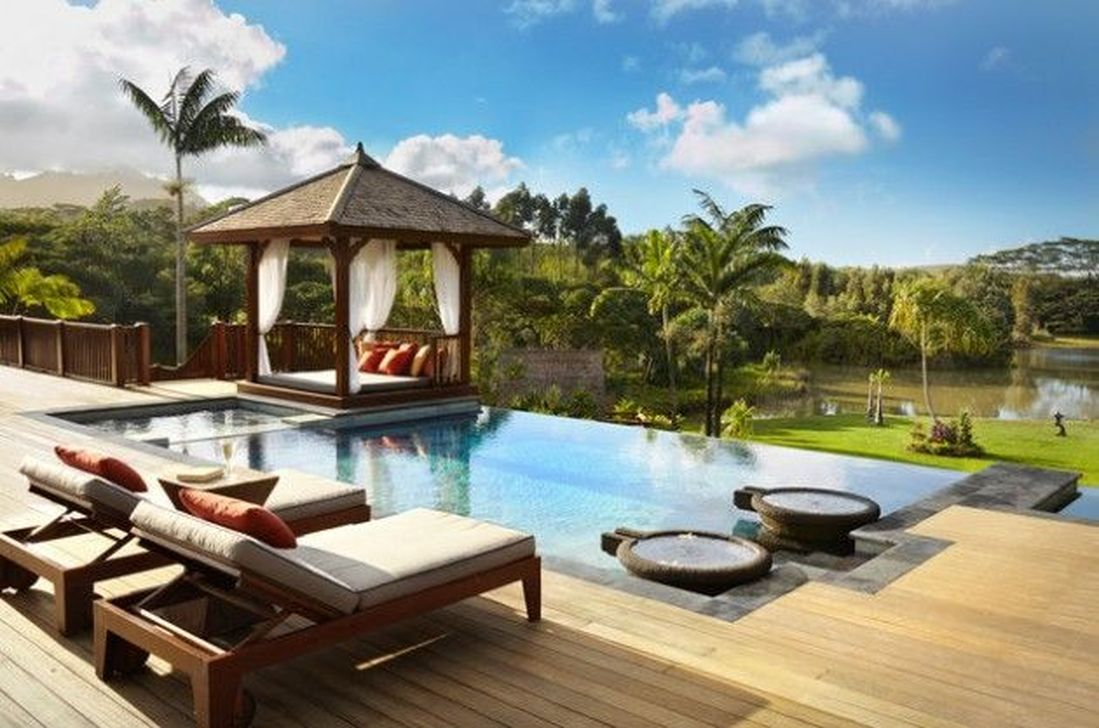 Cozy Swimming Pool Design Ideas For Your Home Backyard29