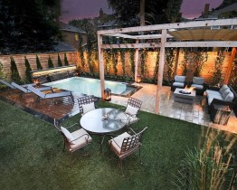 Cozy Swimming Pool Design Ideas For Your Home Backyard32