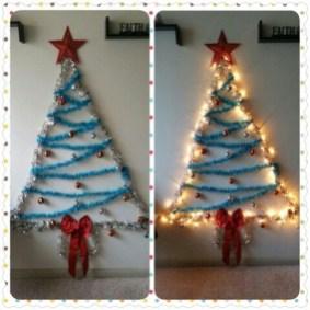 Diy Wall Christmas Tree Ideas01