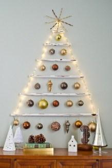 Diy Wall Christmas Tree Ideas10
