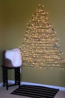 Diy Wall Christmas Tree Ideas11
