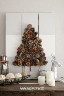 Diy Wall Christmas Tree Ideas12