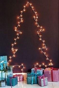 Diy Wall Christmas Tree Ideas15
