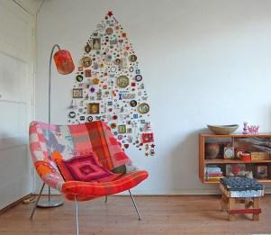 Diy Wall Christmas Tree Ideas22